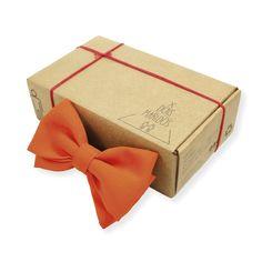 Gravata Borboleta Laranja – Dois Maridos – Gravatas Borboletas, Suspensórios e informações de moda.