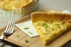 Leek and emmental quiche for St David's Day | The Majestic Wine BlogThe Majestic Wine Blog