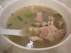 Chinese Pig's Stomach with White Pepper Soup