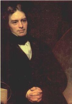 İngiliz fizik ve kimya bilgini-Michael Faraday, (d. 22 Eylül 1791, Newington, Surrey – ö. 25 Ağustos 1867, Londra), İngiliz kimya ve fizik bilgini.  19. yüzyılın en büyük bilim adamlarından biridir. Elektromanyetik indüklemeyi, manyetik alanın ışığın kutuplanma düzlemini döndürdüğünü buldu. Elektrolizin temel ilkelerini belirledi. Klor gazını sıvılaştırmayı başaran ilk kişidir ve elektrik motorunu icat etmiştir.