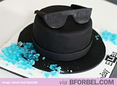 Breaking Bad Walter White Cake