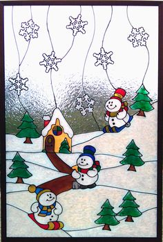 Gallery Glass Class: Winter