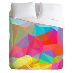 Three Of The Possessed Crystal Crush Duvet Cover | DENY Designs Home Accessories