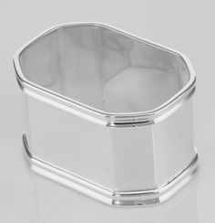 +Sterling+Silver+Napkin+Ring+-+Octagonal+-+Made+in+Italy+NR-43+Silver+Mine+Gifts
