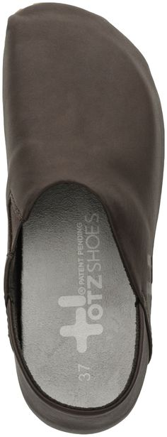 OTZ Espadrille Leather Slip-On (Dark Cinder)