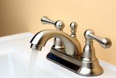 How to Clean Brushed Nickel Bathroom Fixtures - Badezimmer Amaturen Best Bathroom Faucets, Steam Showers Bathroom, Small Bathroom, Bronze Bathroom, Downstairs Bathroom, Brushed Nickel Faucet, Polished Nickel, Shower Fixtures, Rustic Bathrooms