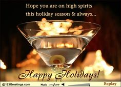 Happy Holidays to friends and family! :)