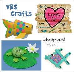 VBS Crafts for 2014 Vacation Bible School from www.daniellesplace.com
