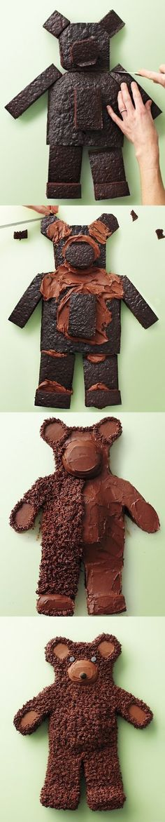 Teddy Bear Chocolate Cake