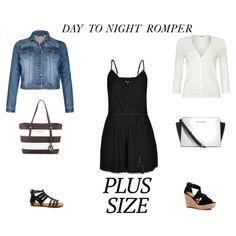 Plus Size/Curvy Day to Night Romper #plussize #curvy #fashion