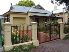 Pictures of Gates by Hindmarsh Fencing & Wrought Iron Security Doors
