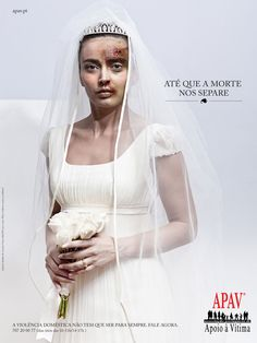 """Till Death do us part"" - Apav Ad Campaign  Agency: Lintas Portugal  The ad shows a lot about domestic violence and how it needs raise it's awareness, helping those who can not help themselves."