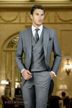 RAGAZZI suits 4 Pezzi Grigio Gilet Suit Blue Swirl Pageboy Party Formale Matrimonio