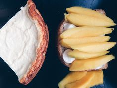Zapekanka + mango & mazarella sandwich