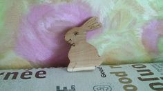 Wooden Rabbit Toy Easter Bunny Forest Animal Toy Woodland