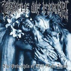 Cradle of Filth - The Principle of Evil Made Flesh album cover Spirit Soul, Lust, Passion, Feelings, Cradle Of Filth, Motivation, School, Strength, Blood