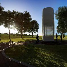 Smog-Free Tower, un purificador de aire a gran escala