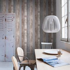 slaapkamer steigerhout behang - Google zoeken | slaapkamer ...