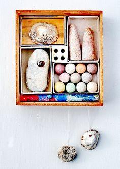 mano kellner, project 2015,  kunstschachtel / art box nr 10/15, sammlers blick (sold)