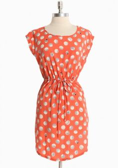 {lucky ladybug dress} if you look close enough, there are ladybugs! so cute :)