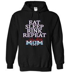 EAT SLEEP RINK REPEAT HOCKEY MOM #tshirt redo #hoodie for teens. GET YOURS  => https://www.sunfrog.com/Sports/EAT-SLEEP-RINK-REPEAT-HOCKEY-MOM-4533-Black-16141970-Hoodie.html?id=60505