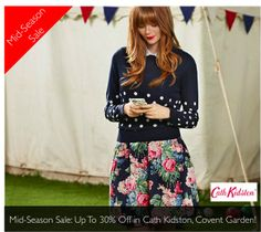 Up To 30% Off In The Mid-Season Sale At Cath Kidston, Covent Garden!