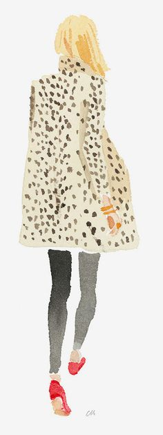 Leopard Coat by Caitlin McGauley / Tiger Flower Studio