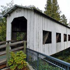 One Perfect Bite: Covered Bridges of Lane County Oregon