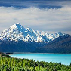 Mount Cook and Pukaki Lake