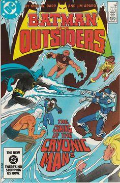 DC Comics - Batman and the Outsiders Vol.1, No. 6, 1983