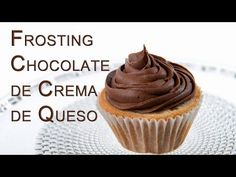 Frosting de Chocolate de Queso de Crema Tipo Filadefia - YouTube