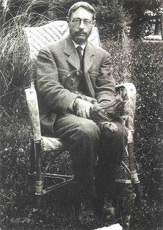 Pierre Bonnard, fine impressionist painter and cat lover.