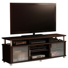 """Found it at Wayfair - City Life 59"""" TV Stand in Chocolate"""