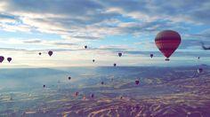 Cappadocia in Turkey. Balloon Toor!!!