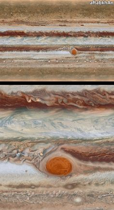 Hubble's #Jupiter Maps Reveals Weird Structures | Over a 10 hour period, the Hubble Space Telescope gazed at the solar system's largest planet to produce one of the most spectacular maps of Jupiter's complex and dynamic atmosphere. Immediately astronomers were able to measure the size of the planet's shrinking Great Red Spot and notice some mysterious structures along the way. As the spot has shrunk, it's color has also become more anemic, losing some of its redness.