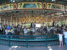 Carousel at Como Park Zoo St. Paul, Minnesota. Oh to be a kid again