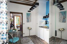 Studio | Before/After : 20m2 in Paris |Avant/après : 20 m2 libérés dans ce petit appartement parisien
