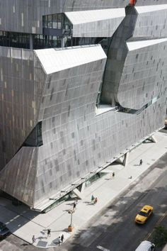 The Cooper Union's 41 Cooper Square, designed by Morphosis, is the newest addition to The Cooper Union for the Advancement of Science and Art campus. Located in New York City, 41 Cooper Square.