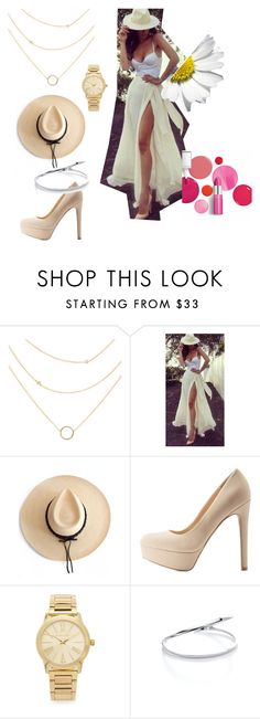 """""""Fashion is a game..."""" by koogallove on Polyvore featuring Ryan Roche, Qupid, Michael Kors, Clinique, contestentry and jenchaexmejuri"""