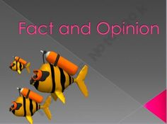 Fact and Opinion Power Point Lesson