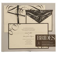 <div>This kit allows you to save time by making the invitations yourself using the custom print-...