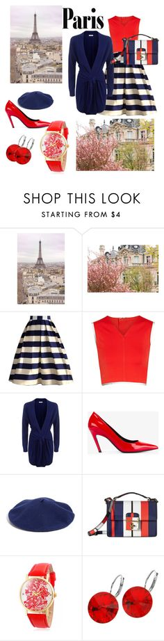 """I love Paris in the Fall"" by elizarova-image ❤ liked on Polyvore featuring WALL, Chicwish, Theory+, Sandro, Balenciaga, Halogen, Dolce&Gabbana and L. Erickson"
