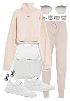 """Untitled #20477"" by florencia95 ❤ liked on Polyvore featuring Eres, Mansur Gavriel, Filling Pieces, Forever 21 and Linda Farrow"