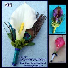 Wedding Vows, Fall Wedding, Our Wedding, Dream Wedding, Wedding Ideas, Trendy Wedding, Prom Flowers, Wedding Flowers, Calla Lily Boutonniere
