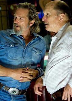 Jeff Bridges & Robert Duvall in Crazy Heart