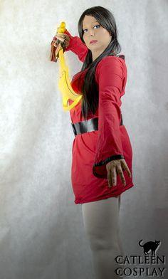 Photoshoot: Kimiko Photoshoot, Photographer: Catleen, Series: Xiaolin Showdown, Character: Kimiko