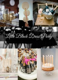 Little Black Dress Party - SOMETHING SOUTHERN
