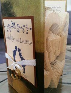 Book folding  love