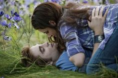 """Eclipse - Bella: """"Marriage...it's just...it's a piece of paper."""" Edward: """"Where I'm from, it's the way one says 'I love you'."""""""