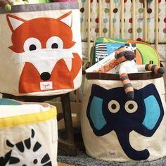 Aufbewahrungskorb Fuchs - 3 sprouts im Kinderzimmerhaus